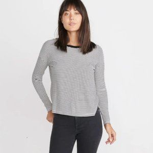 NWT Marine Layer Merritt Crew in B&W - Small